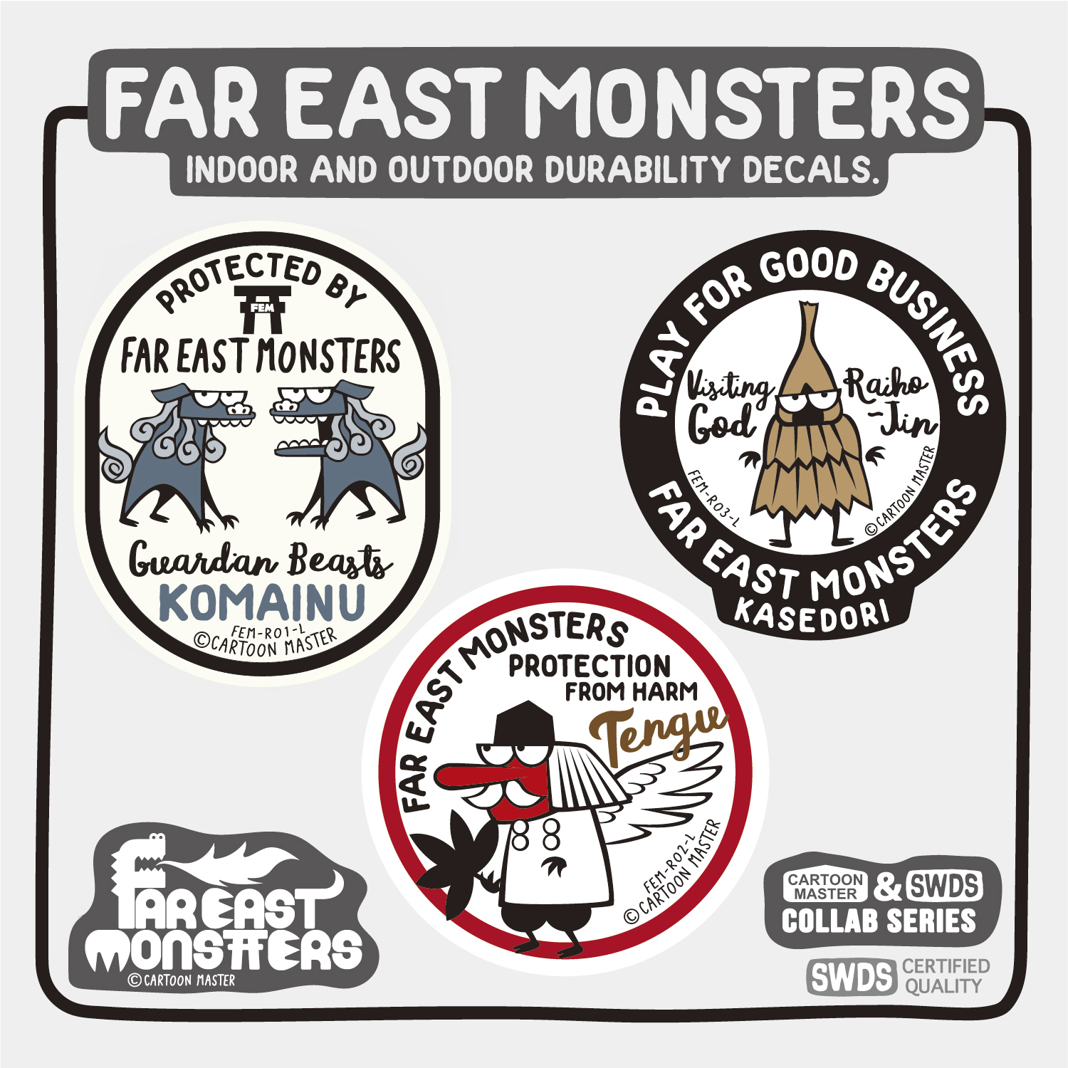 FAR EAST MONSTERS