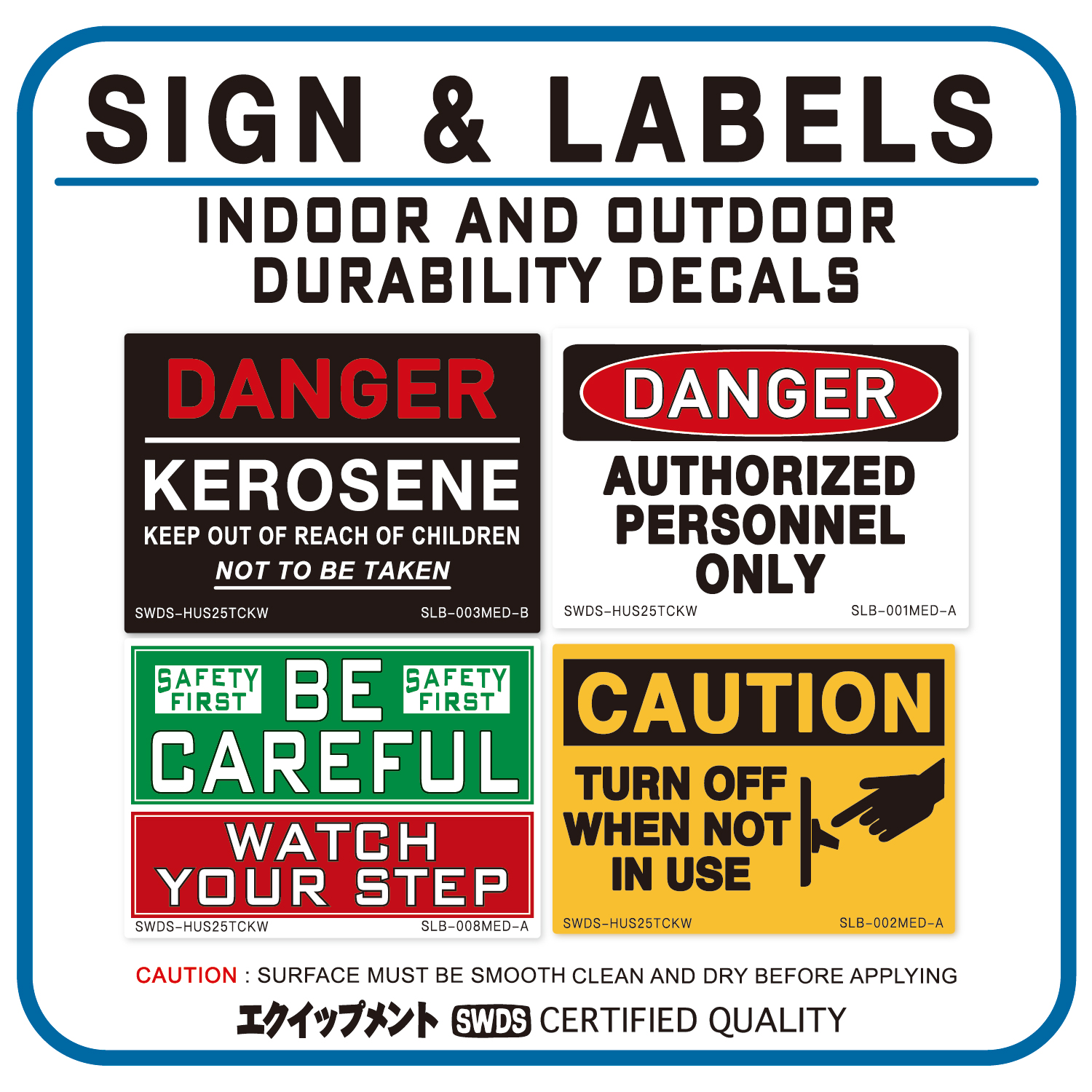 SIGN & LABELS